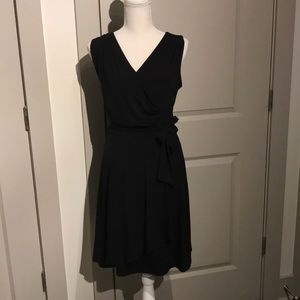 Black wrap cocktail dress *new*